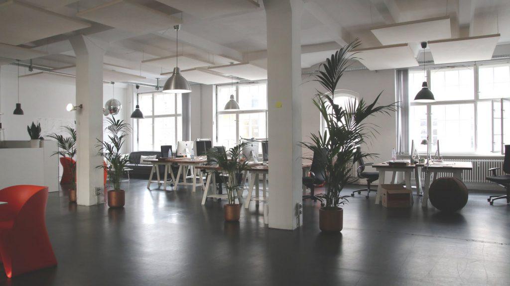 schoon kantoor